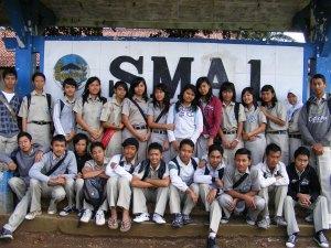 Foto Siswa SMAN Ajibarang
